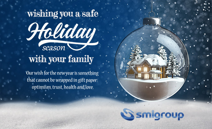 Happy Holidays from Smitec S.p.A.